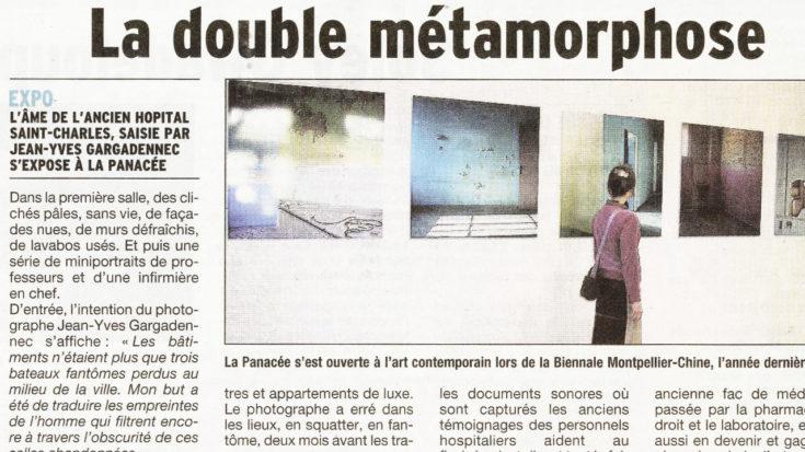 Métamorphose Jean-Yves Gargadennec, Montpellier / La Panacée
